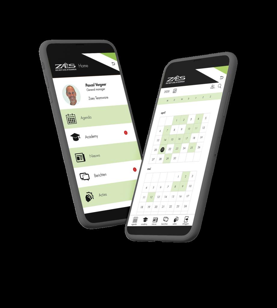 Maatwerk zoals uw eigen logo en huisstijlkleur is ook mogelijk bij ViQZ, de complete applicatie voor organisaties met personeel.