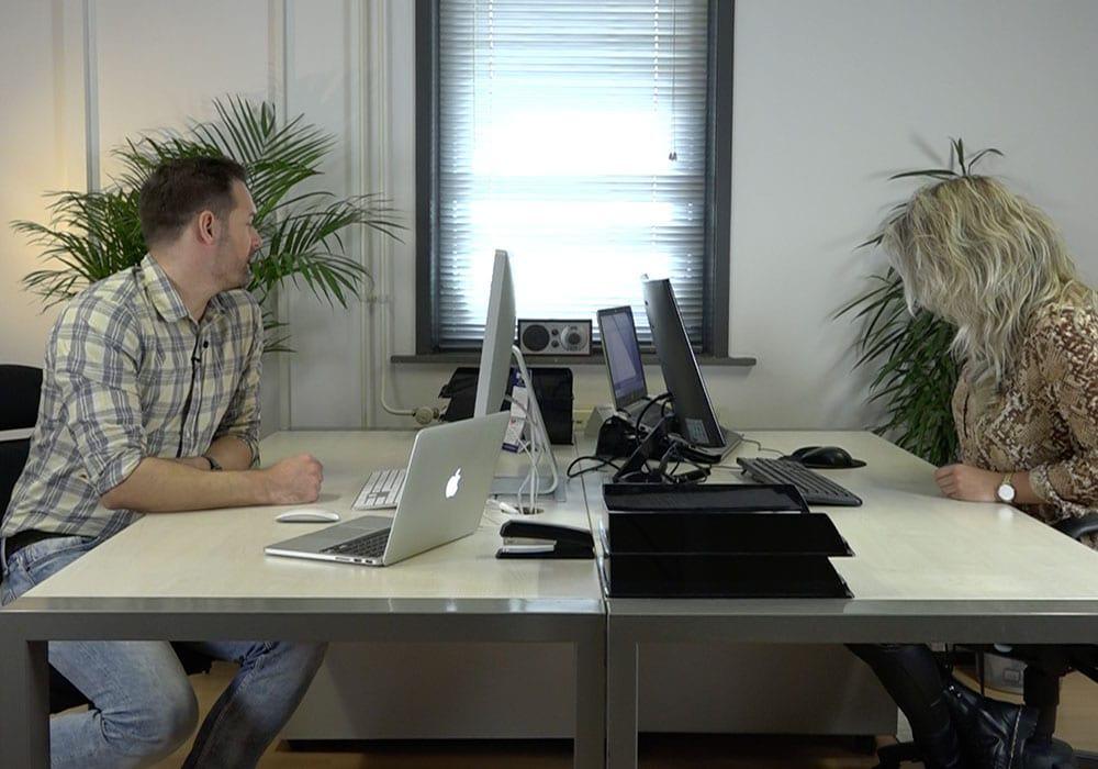 Het ViQZ kantoor in Warmond.